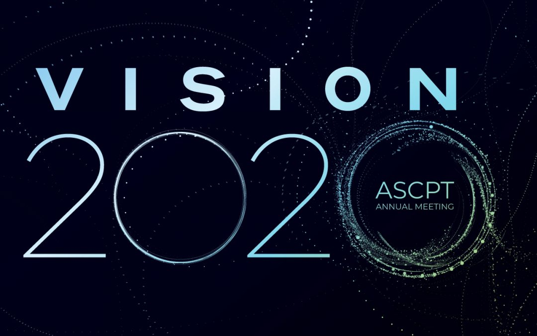 March 16 & 17, 2020: Two 1-Day OSP Suite Workshops @ ASCPT Meeting 2020