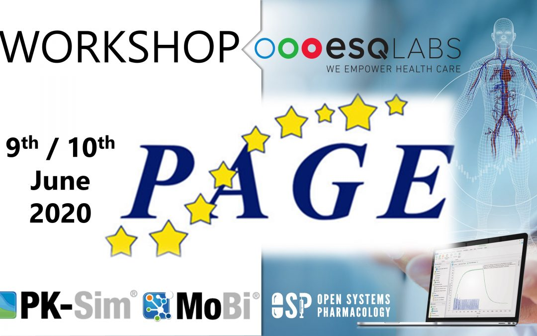 June 9 & 13, 2020: Two 1-Day OSP Suite Workshops @ PAGE Meeting 2020 (EU, Slovenia)